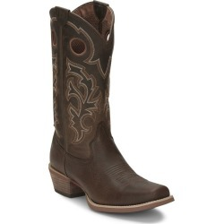 Justin Mens Puncher Square Toe Boots 11 EE Tan found on Bargain Bro India from StateLineTack.com for $189.95