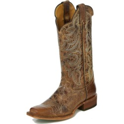 Justin Ladies Bent Rail Sq Toe Katia Tan Boots 55B found on Bargain Bro Philippines from Horse.com for $204.95
