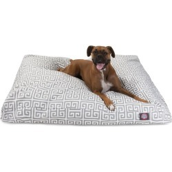 Majestic Outdoor Grey Towers Rectangle Pet Bed LG