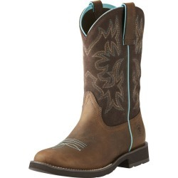 Ariat Ladies Delilah Round Toe Fudge Boots 6 found on Bargain Bro India from StateLineTack.com for $109.95