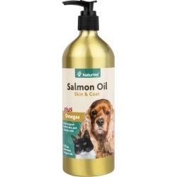 NaturVet Unscented Salmon Oil Pet Supplement