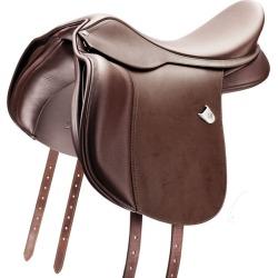 Bates All Purpose WIDE Saddle 18 Brown