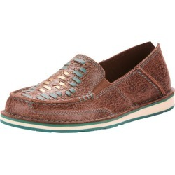 Ariat Ladies Cruiser Weave Brown Rebel Shoes 7.5 found on Bargain Bro India from Horse.com for $89.95