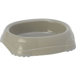 Moderna 1 Cup Smarty Bowl for Cats Gray