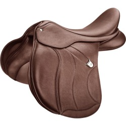 Bates AP+ CAIR Saddle Luxe Leather 16.5 Brown