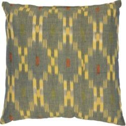 "Bohemian Jay Pillow 18"" x 18"" Pillow - Yellow Yellow"