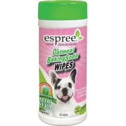 Espree Oatmeal and Baking Soda Dog Grooming Wipes