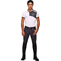 GHM Mens Grand Prix Knee Patch Breech 30 Navy found on Bargain Bro India from Horse.com for $107.95