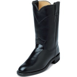 Justin Ladies Roper 10in Black Kipskin Boots 6.5 found on Bargain Bro India from StateLineTack.com for $133.29