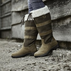 Dublin Ladies Eskimo Chocolate Boots II 6.5 found on Bargain Bro India from Horse.com for $179.99