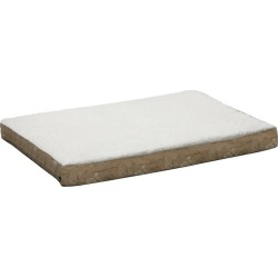 Quiet Time Script Tan Thick Ortho Dog Bed 30x40 found on Bargain Bro India from Horse.com for $53.99