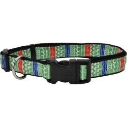 Ugly Sweater Holiday Dog Collar 12-18in found on Bargain Bro Philippines from Horse.com for $4.11