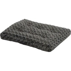 Quiet Time Deluxe Ombre Swirl Pet Bed 35x25 Gray found on Bargain Bro India from Horse.com for $22.99