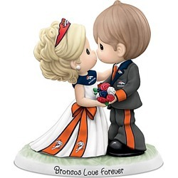 Precious Moments Denver Broncos Love Forever NFL Figurine found on Bargain Bro India from Bradford Exchange for $99.99