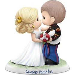 Precious Moments USMC Always Faithful Figurine found on Bargain Bro India from Bradford Exchange for $99.99