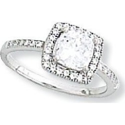 Kelly Herd Cubic Zirconia Square Ring 8 found on Bargain Bro India from Horse.com for $125.00