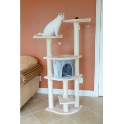Armarkat Classic Cat Tree Model A6401 64in Almond