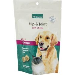 NaturVet Hip and Joint Pet Soft Chews 120ct