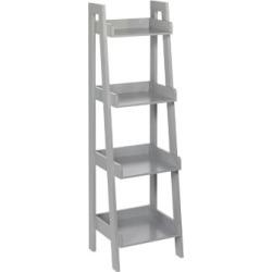 RiverRidge Kids Ladder Shelves Gray
