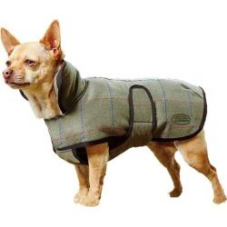 WeatherBeeta Tweed Dog Coat 24 Olive