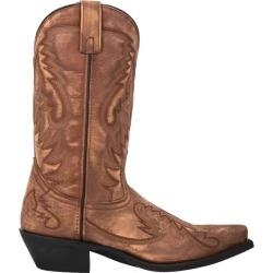 Laredo Mens Garrett Snip Toe Tan Boots 10D found on Bargain Bro Philippines from Horse.com for $124.95