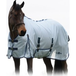Saxon Mesh Gusset Belly Wrap Fly Sheet 48 Blue/Nav found on Bargain Bro Philippines from Horse.com for $64.99