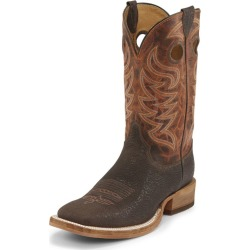 Justin Mens Bent Rail Sq Caddo Brown Boots 9.5 2E found on Bargain Bro India from Horse.com for $209.95