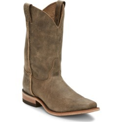 Justin Mens Weatherford Sq Toe Boots 7 D Brown found on Bargain Bro India from StateLineTack.com for $194.95