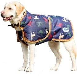 WeatherBeeta Parka 1200 Deluxe Dog Coat 12 Stag