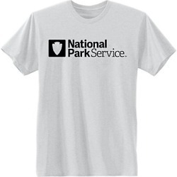 Hanes National Park Service Graphic Tee Service/Light Steel 3XL