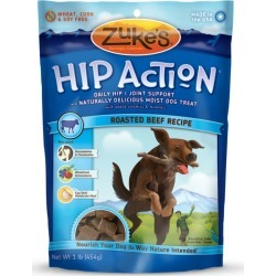Zukes Hip Action Dog Treats Beef