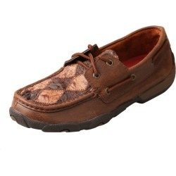 Twisted X Ladies Bomber/Ostrich Driving Mocs 7.5 found on Bargain Bro India from Horse.com for $135.95