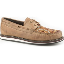 Roper Ladies Cheyenne Tan Shoes 6 found on Bargain Bro India from StateLineTack.com for $77.99