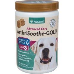 NaturVet ArthriSoothe Gold Pet Soft Chew - 180 ct