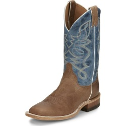 Justin Ladies Moore Sq Toe Boots 9.5 B Brown found on Bargain Bro India from Horse.com for $186.62