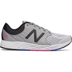 New Balance Women's Fresh Foam Zante v4 Shoes Grey with Black & Pink