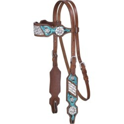 Silver Royal Ashton Browband Headstall found on Bargain Bro from StateLineTack.com for USD $75.15