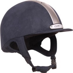 Champion Ventair Classic Helmet 7 1/2 Navy/Silver found on Bargain Bro Philippines from Horse.com for $349.95