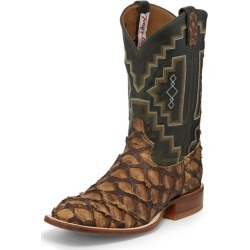 Tony Lama Mens Sq Toe Leviathan Choc Boots 11.5 2E found on Bargain Bro India from Horse.com for $544.95