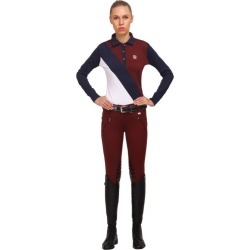 GHM Ladies Derby Knee Patch Breech 34 Navy found on Bargain Bro India from Horse.com for $98.95