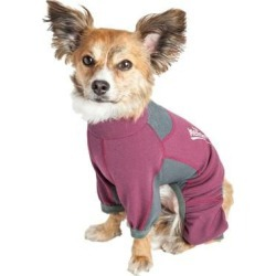 Helios Rufflex Dog Warmup Tracksuit Medium Pink/Gr found on Bargain Bro Philippines from Dog.com for $64.99