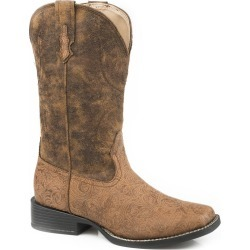 Roper Ladies Mitsy Square Toe Boots 10.5 found on Bargain Bro India from StateLineTack.com for $76.50