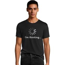 Hanes Men's I'm Thinking Graphic Tee 2XL