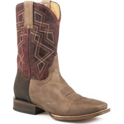 Roper Mens Ashkii Square Toe Boots 15EE found on Bargain Bro India from StateLineTack.com for $197.99
