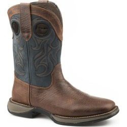 Roper Mens Wilder Square Toe Boots 9 D Blue found on Bargain Bro India from Horse.com for $153.99