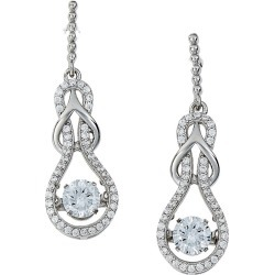 Kelly Herd Slip Knot Clear Dangle Earrings found on Bargain Bro India from Horse.com for $199.00