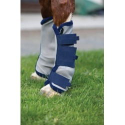 Amigo Fly Boots Horse Silver/Navy found on Bargain Bro India from StateLineTack.com for $46.95