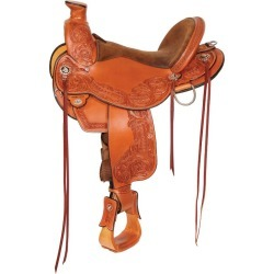 Circle Y Walnut Grove Trail Saddle Wide 14 Oil found on Bargain Bro from Horse.com for USD $1,710.00