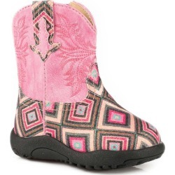Roper Cowbabies Glitter Gal Round Toe Boots 4 found on Bargain Bro India from Horse.com for $37.99