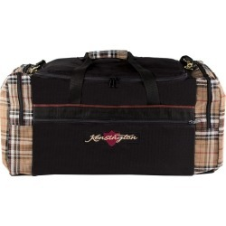Kensington Signature Large Gear Bag Black Plaid